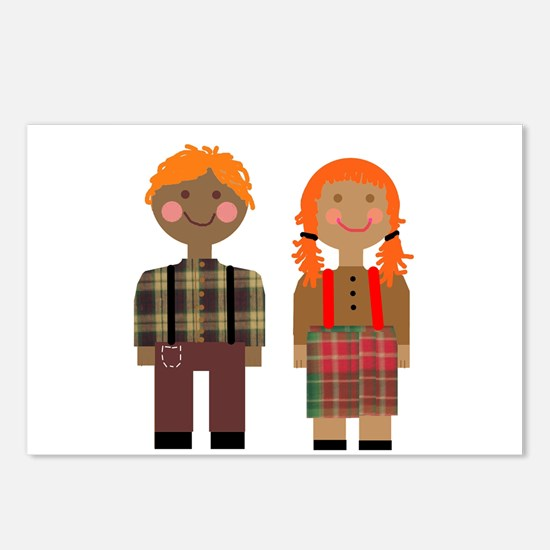 Ann and Andy 2 Postcards (Package of 8)