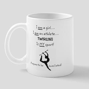 Twirling Athlete Mug