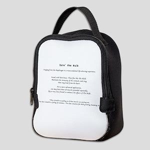 Doin the Hulk Neoprene Lunch Bag