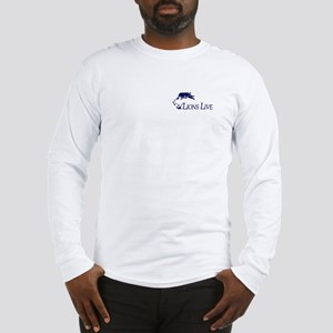 Lions Live White Long Sleeve T-Shirt
