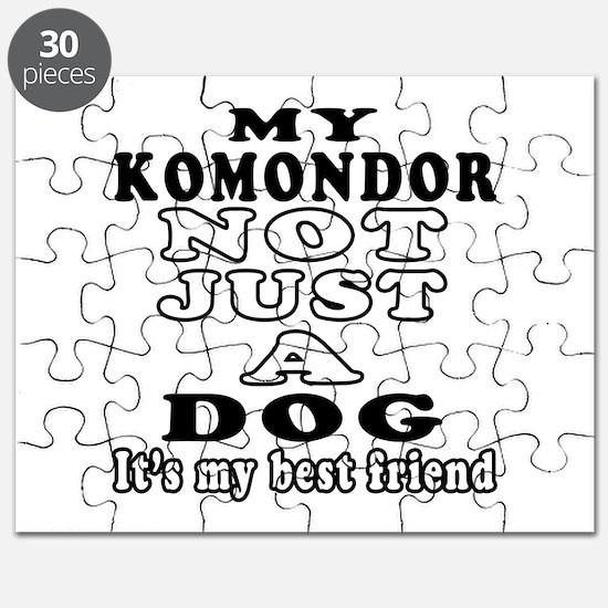 Komondor not just a dog Puzzle