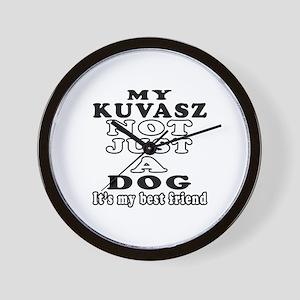 Kuvasz not just a dog Wall Clock