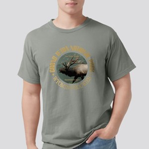 Grand Teton NP (elk) Mens Comfort Colors Shirt