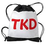 TKD TaeKwonDo Drawstring Bag