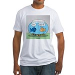Fishbowl Divorce Fitted T-Shirt