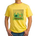 Fishbowl Divorce Yellow T-Shirt