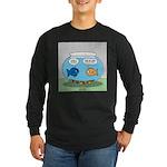 Fishbowl Divorce Long Sleeve Dark T-Shirt