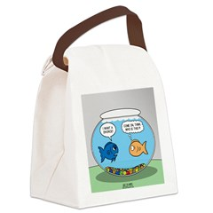 Fishbowl Divorce Canvas Lunch Bag