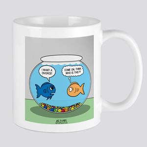 Fishbowl Divorce Mug