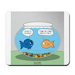Fishbowl Divorce Mousepad