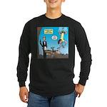 Bungee Dining Long Sleeve Dark T-Shirt