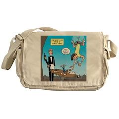 Bungee Dining Messenger Bag