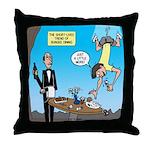 Bungee Dining Throw Pillow