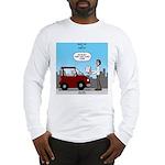 Smart Car vs Dumb Guy Long Sleeve T-Shirt