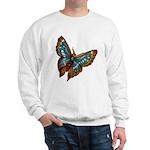 Blue Moth Sweatshirt