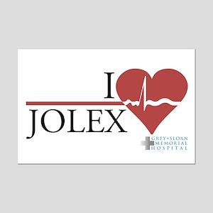 I Heart JOLEX - Grey's Anatomy Mini Poster Print