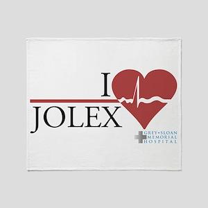 I Heart JOLEX - Grey's Anatomy Stadium Blanket