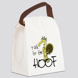 Talk to the Hoof Canvas Lunch Bag
