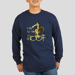 Talk to the Hoof Long Sleeve Dark T-Shirt
