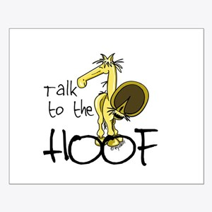 Talk to the Hoof Small Poster
