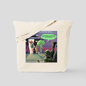 Spaced-Out Vegan Tote Bag