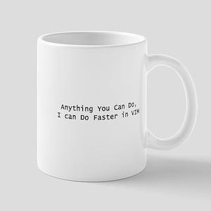 Faster in VIM Mug
