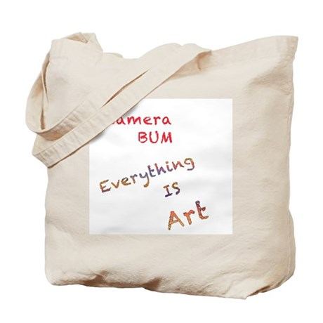 Everything is Art Tote Bag