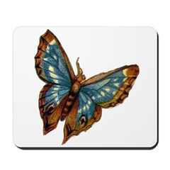 Blue Moth Mousepad