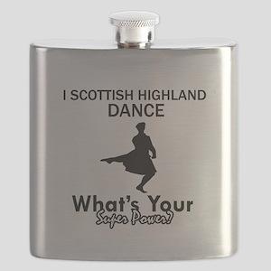 Scottish Highland is my Superpower Flask