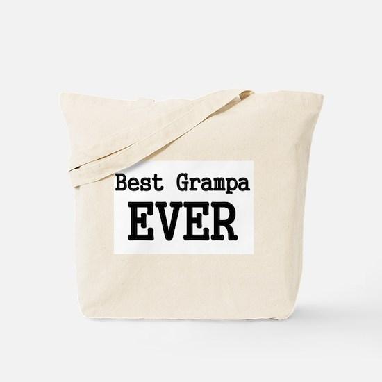 Best Grampa Ever Tote Bag