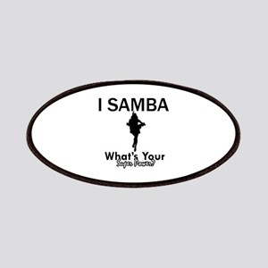 Samba is my Superpower Patches