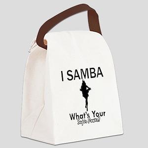 Samba is my Superpower Canvas Lunch Bag