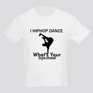 Hip Hop is my Superpower Kids Light T-Shirt