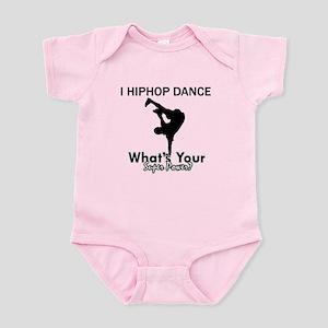 Hip Hop is my Superpower Infant Bodysuit
