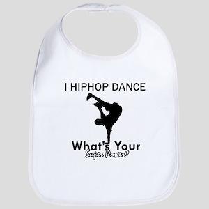 Hip Hop is my Superpower Bib