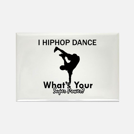 Hip Hop is my Superpower Rectangle Magnet