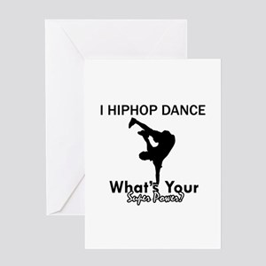 Hip Hop is my Superpower Greeting Card