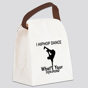 Hip Hop is my Superpower Canvas Lunch Bag