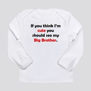 Cute Big Brother Long Sleeve T-Shirt