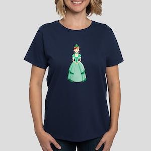 Green Princess Women's Dark T-Shirt