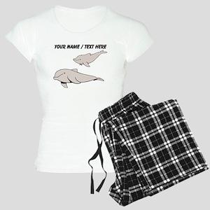 Custom Beluga Whales Pajamas