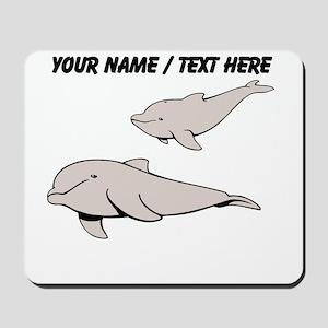 Custom Beluga Whales Mousepad