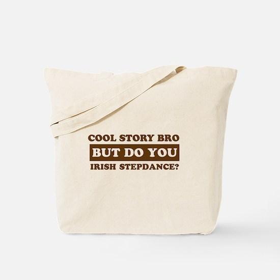 Cool Irish Step Dance designs Tote Bag
