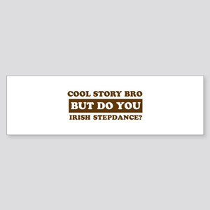 Cool Irish Step Dance designs Sticker (Bumper)