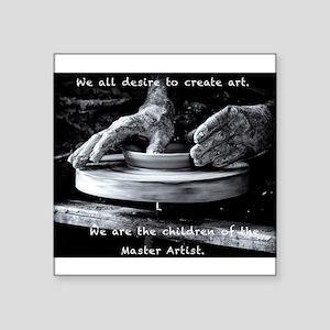 Children of the Master Artist Sticker