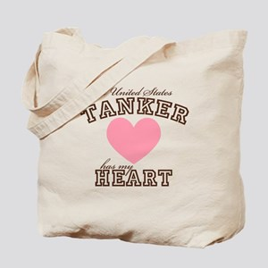A U.S. Tanker has my heart Tote Bag