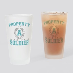 Property of a U.S. Soldier Pint Glass