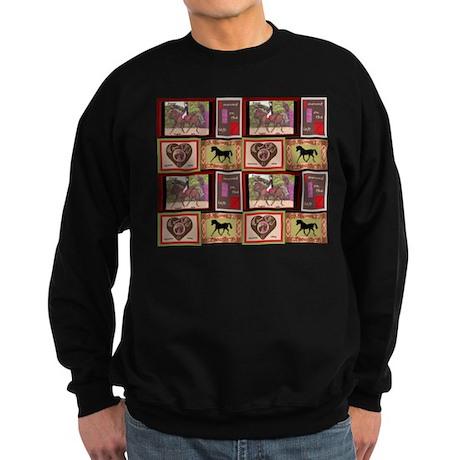 Dressage Horses Sweatshirt
