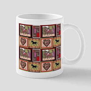 Dressage Horses Mug