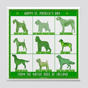 NATIVE DOGS OF IRELAND Tile Coaster